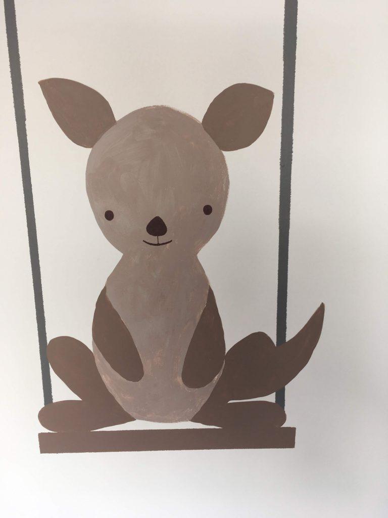 kangourou marron